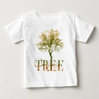 Grüner Baum Baby T-shirt