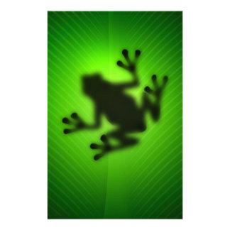 Grüner Baum-Frosch Briefpapier