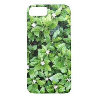 Grüner Blatt iPhone Kasten iPhone 8/7 Hülle