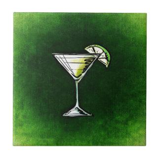 Grüner Cocktailwermut Fliese