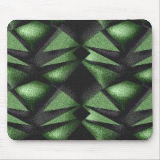 Grüner Diamant Mauspads