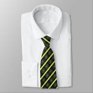 Grüner Diamant Striped Personalisierte Krawatten