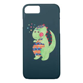 Grüner Dino iPhone 8/7 Hülle