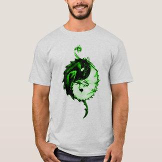 Grüner Drache-Einheits-Symbol T-Shirt
