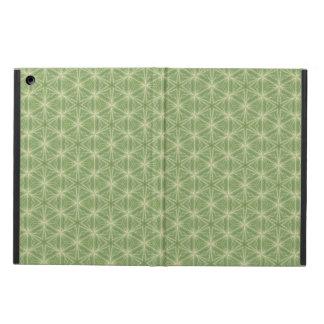 Grüner Efeu-Blatt-geometrischer Entwurfs-Kasten