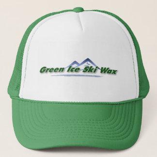 Grüner Eis-Ski-Wachs-Fernlastfahrer-Hut Truckerkappe