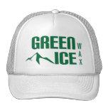 Grüner Eis-Wachs-Fernlastfahrer-Hut Trucker Caps