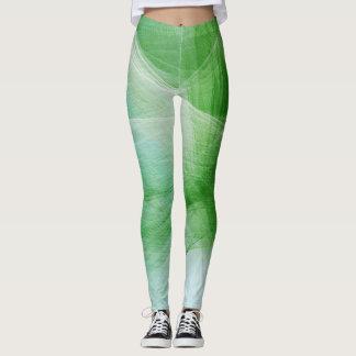 Grüner Farben-Spritzer #2 Leggings