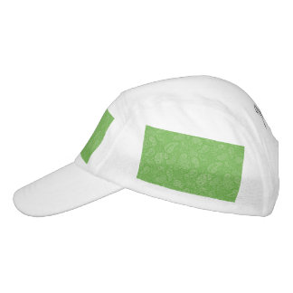 Grüner Feiertag Paisely Headsweats Kappe