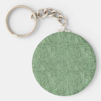 Grüner Folien-Entwurf Schlüsselanhänger