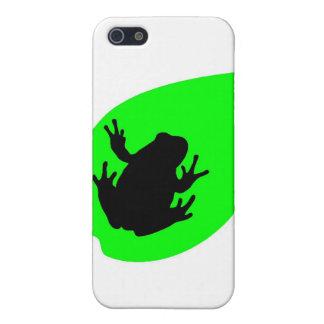 Grüner Frosch iPhone 5 Hülle