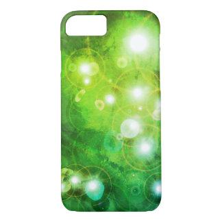 Grüner Galaxie-Telefon-Kasten iPhone 8/7 Hülle
