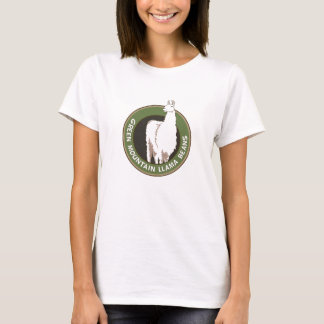 Grüner Gebirgslama-Bohnen-Behälter T-Shirt