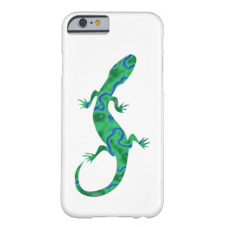Grüner Gecko Barely There iPhone 6 Hülle