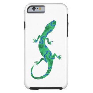 Grüner Gecko Tough iPhone 6 Hülle