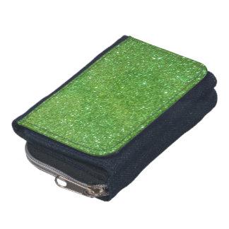 Grüner Glitter-abstrakte Beschaffenheit