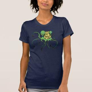 Grüner großer Hurt-alien-T - Shirt