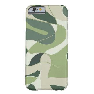 Grüner Handykasten der Tarnung Barely There iPhone 6 Hülle