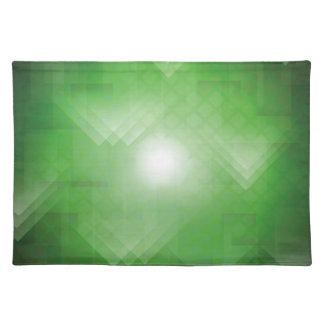 grüner Hintergrund Tischset
