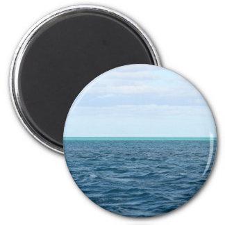 Grüner Horizontmagnet Runder Magnet 5,7 Cm