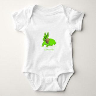 GRÜNER HUND LOGOWEAR BABY STRAMPLER