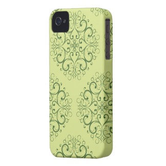 grüner Java-Batik iphone4 kaum iPhone 4 Hüllen