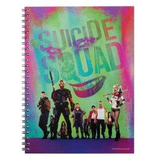 Grüner Joker der Selbstmord-Gruppe-  u. Notizblock