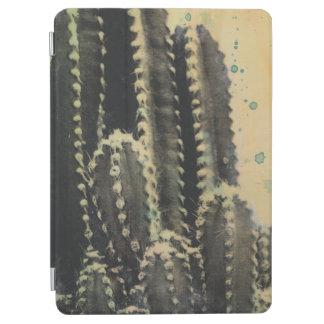 Grüner Kaktus auf gelbem Hintergrund iPad Air Hülle