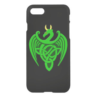Grüner keltischer Drache iPhone 7 Kasten iPhone 8/7 Hülle