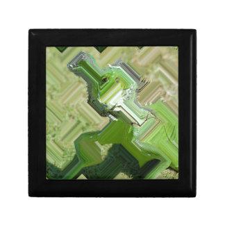 Grüner Leguan Erinnerungskiste