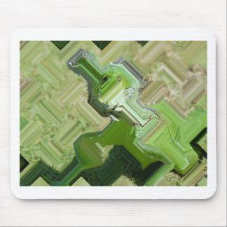 Grüner Leguan Mousepad