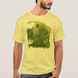 Grüner Leopard-T - Shirt