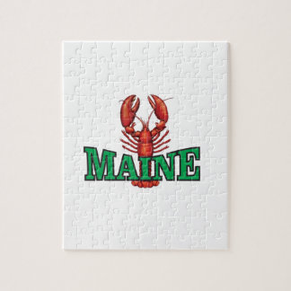 grüner Maine-Hummer Puzzle