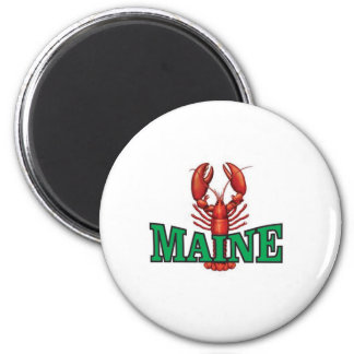 grüner Maine-Hummer Runder Magnet 5,1 Cm
