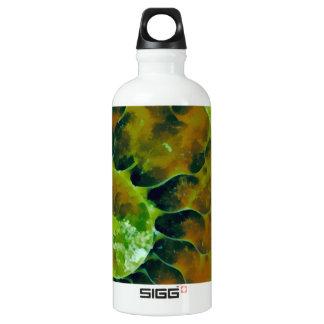Grüner Nautilus Wasserflasche