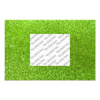 Grüner NeonGlitter Photographie
