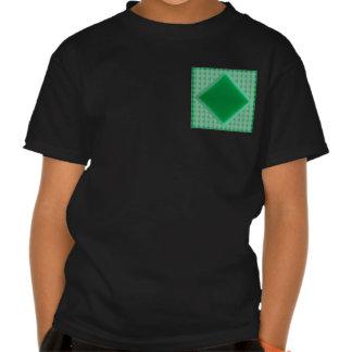 GRÜNER ONYX Kristallstein, der Muster-Shirts 99