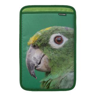 Grüner Papagei Sleeve Fürs MacBook Air