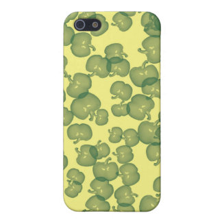 Grüner Paprikaschoten-Entwurf iPhone 5 Hüllen