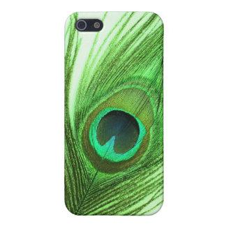 Grüner Pfau-Feder iPhone 4/4s Speck-Kasten Schutzhülle Fürs iPhone 5