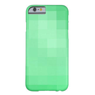 Grüner Pixel-Kasten Barely There iPhone 6 Hülle