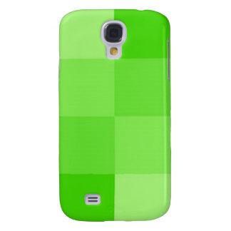 Grüner quadratischer iphone Kasten Galaxy S4 Hülle