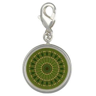 Grüner RadMandala/Grünes krasser Mandala Charm