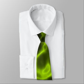 Grüner Raucheffekt Krawatte