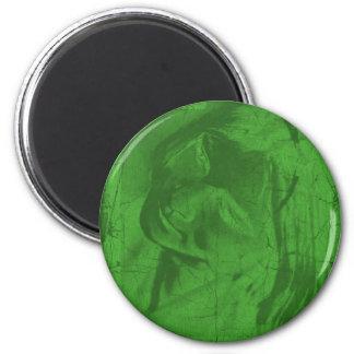 Grüner Reflexions-Magnet Kühlschrankmagnet