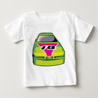 grüner Rennwagen Baby T-shirt