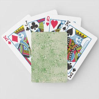 Grüner Rock-Spielkarten durch John-Ofen Bicycle Spielkarten