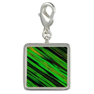 Grüner Süßigkeits-Streifen Foto Charms