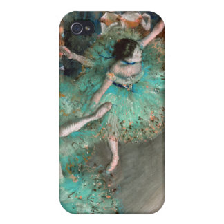 Grüner Tänzer (Danseuse Verte) Edgar Degas iPhone 4 Schutzhülle