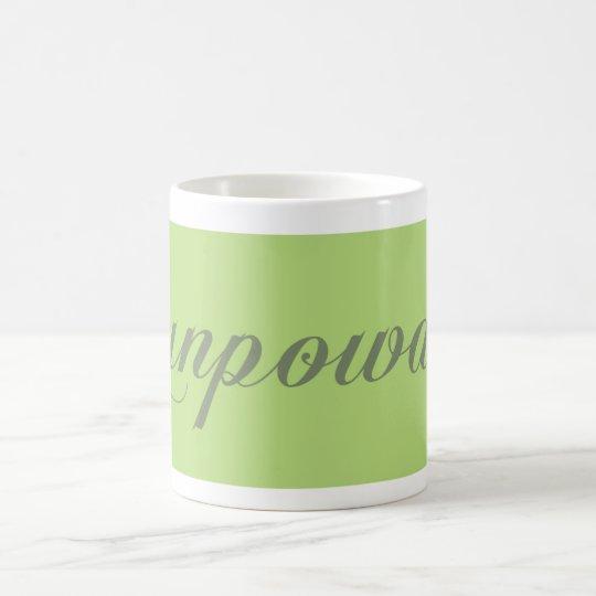 grüner Tee green tea gunpowder Kaffeetasse